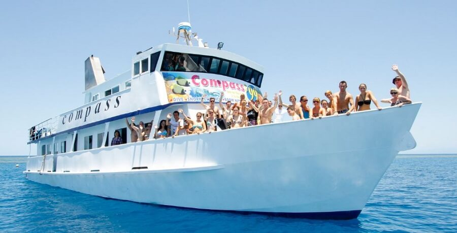 Cairns Tour Package Great Barrier Reef Boat